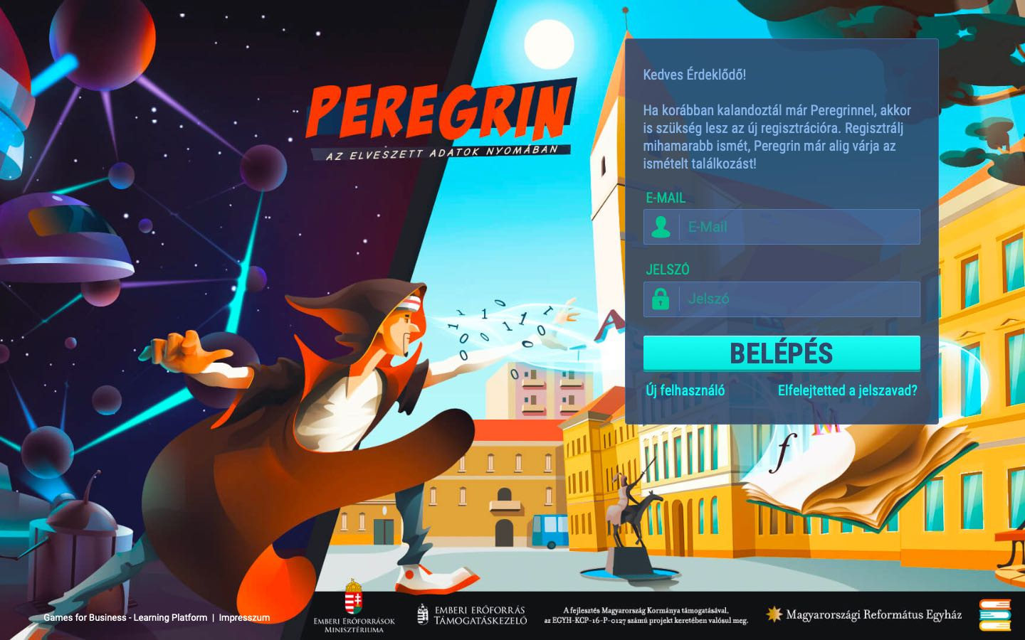 Peregrin - virtual journey through the history of Reformed schools